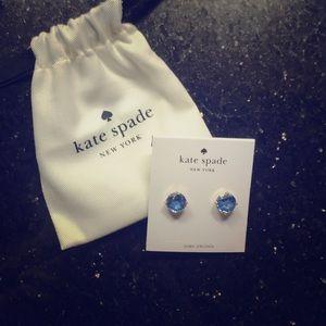 kate spade ♠️ Blue Sapphire Bright Idea Earrings